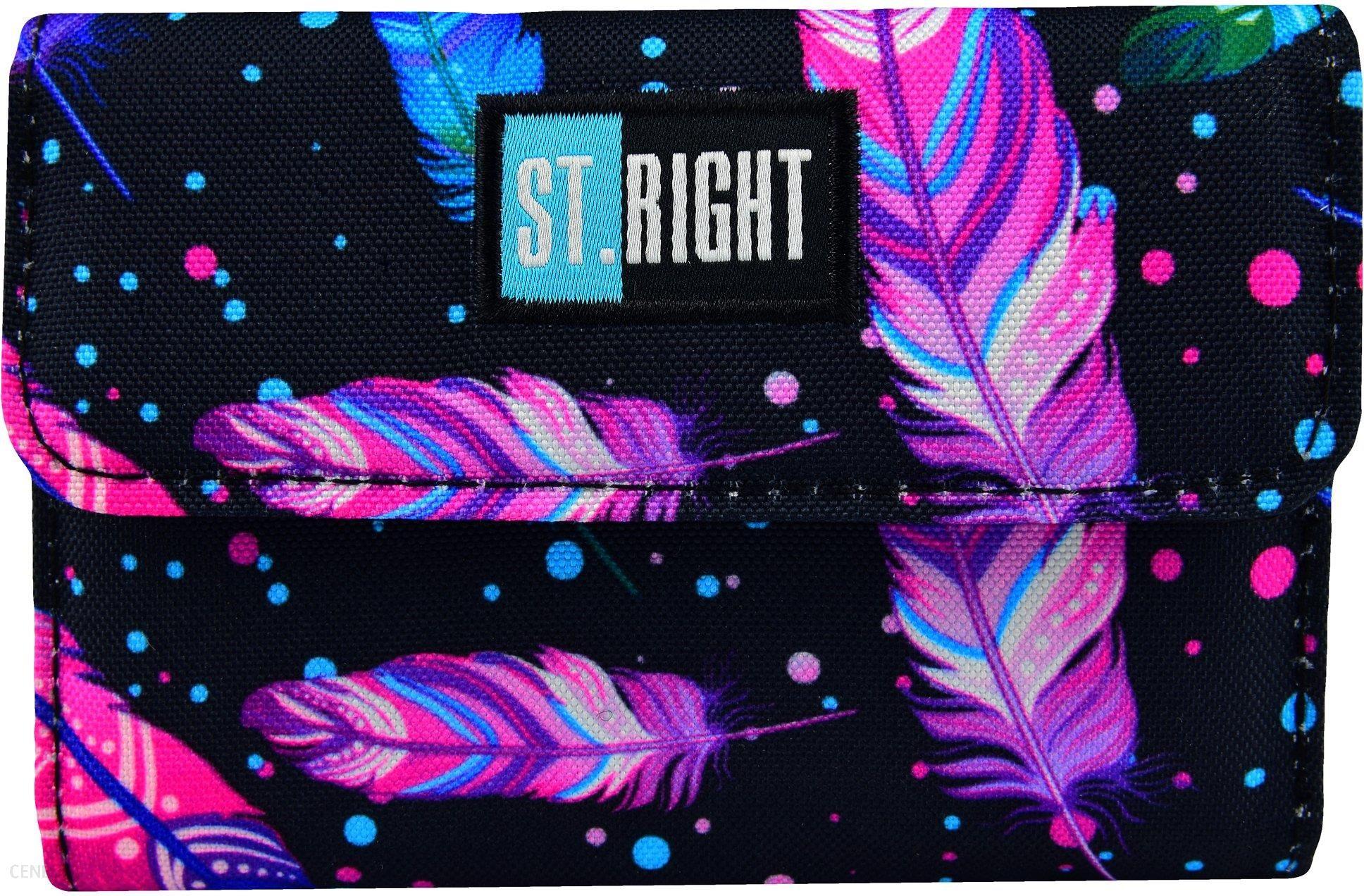 a8a81165e0545 Portfel dla dziecka portfelik St.Right Feathers - Ceny i opinie ...