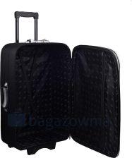 c86a0ca4a596b Mała kabinowa walizka PELLUCCI 773 S - Czarno Pomarańczowa - czarny /  pomarańczowy