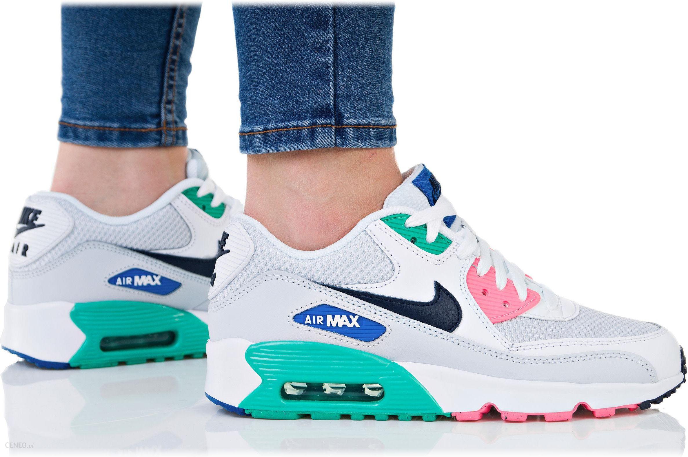 BUTY damskie NIKE AIR MAX 90 MESH (833418 100) Biały 38 Nike Ceny i opinie Ceneo.pl