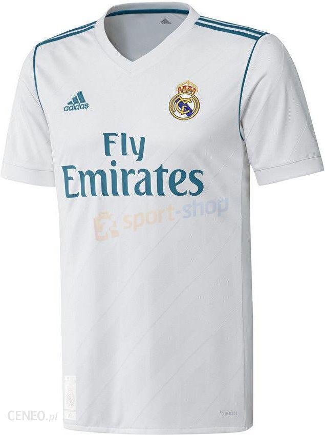 Niewiarygodnie Adidas Koszulka Real Madryt Home 2017/2018 Az8059 - Ceny i opinie ZL46