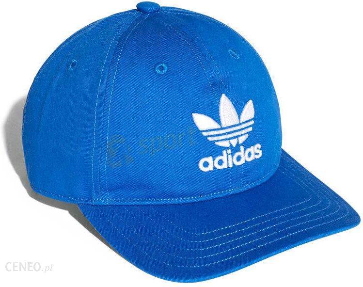 48b088dbeca9d Originals Czapka Z Daszkiem Trefoil Classic Cap Adidas (Niebieska) Bk7271 -  zdjęcie 1