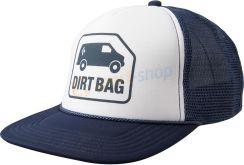 Black Diamond Czapka Z Daszkiem Flat Bill Trucker Hat (Biało-Granatowa)  Apaq3P412 d5b5368c1ad9