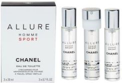 Chanel Allure Homme Sport Woda Toaletowa 3X20Ml