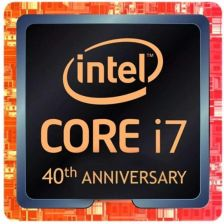 Intel Core i7-8086K 4,00GHz 40th Anniversary Edition BOX (BX80684I78086K)