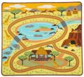 Melissa & Doug Dywan Do Zabawy Safari 19428