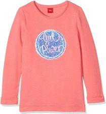 e0ce64ed8ec5c Amazon S. Oliver dziewczynka bluza z długim rękawem, kolor: różowy, rozmiar: