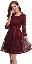 b91f735043 Amazon Torebka damska sukienka koronkowa 3 4 ramiona-suknia wieczorowa z  (kostor)