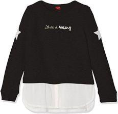 70ad0b13e0a56 Amazon S. Oliver dziewczynka bluza - czarny (Black 9999)