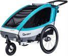 Przyczepka rowerowa Qeridoo Sportrex2  Model 2018 Dwumiejscowa