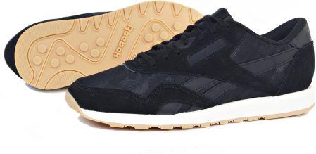 a5cfcd9fb8b Buty Reebok CL Leather Hc CM9669 Czarne R. 42.5 - Ceny i opinie ...