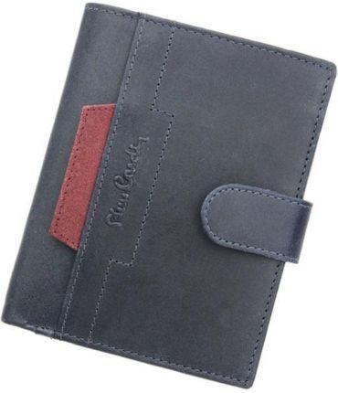 9b20be350a1a7 Portfel Skórzany Cardholder Męski Pierre Cardin Slim Brąz Etui P020 ...