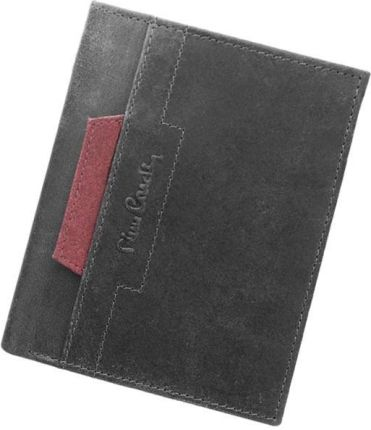 87219191bda36 Portfel męski skórzany PIERRE CARDIN FOSSIL TILAK12 331 RFID Czarny ...
