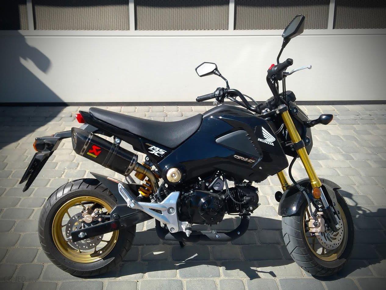 Honda Msx 125 Grom Akrapovic Ohlins Polski Salon Opinie I Ceny Na Ceneo Pl
