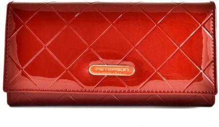 f450d5f43c3242 Podobne produkty do KRENIG El Dorado 11015 ekskluzywny czerwony skórzany  portfel damski w pudełku. Peterson Portfel Damski Skórzany Czerwony ...