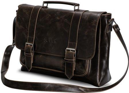 9e672d2554785 Markowa torba męska na ramię NEW BAGS A4 na podróż do pracy R1 SUPER ...