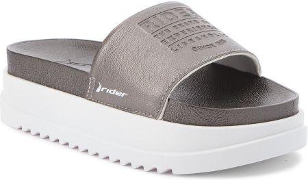 573693991abaa Klapki RIDER - Power Up Slide Fem 11297 White/Silver 23554 eobuwie