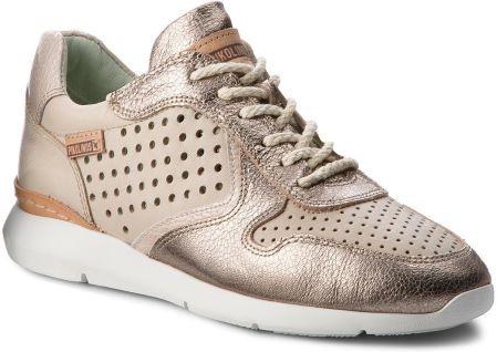 Sneakersy ROBERTO 594 Szary Nubuk Sneakersy Półbuty