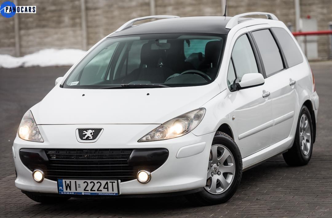 Peugeot 307 Ii 2006 110km Kombi Bialy Opinie I Ceny Na Ceneo Pl