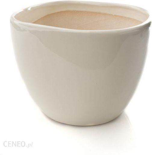 Osłonka Doniczki Ceramiczna Clasic 23 Ecru Ceny I Opinie Ceneopl