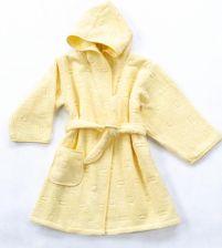 0f9aa41a43b4f1 Szlafrok Dziecięcy Bawełna 48 miesięcy Żółty Greno.