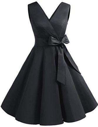 1f2a5c5ffc Amazon dresstells XX Vintage Retro Rockabilly Sukienka bez rękawów  świąteczne impreza sukienka koktajlowa
