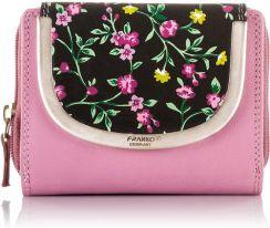 370feaf1fd7c6 Portfel damski skórzany Franko Germany z kwiatkami 1631-1 - Ceny i ...