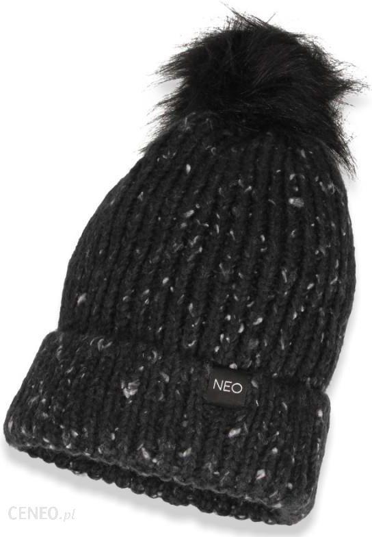 Czapka zimowa damska z pomponem Adidas NEO NFPP S14218 Ceny i opinie Ceneo.pl