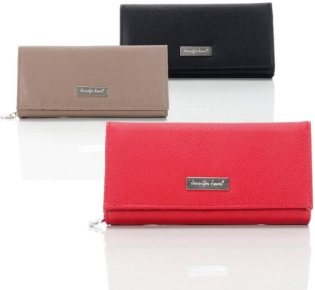 4fe852d9137e1 Elegancki duży portfel damski Jennifer Jones na prezent 3 kolory - 1109
