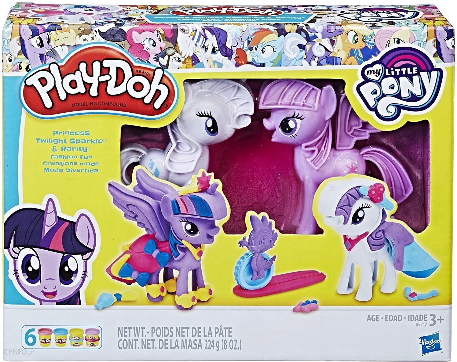 Hasbro Play Doh My Little Pony Rarity I Twilight B9717 Ceny I Opinie Ceneo Pl