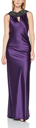 11c3fee2b9 Amazon Hot Quash torebka damska sukienka koktajlowa beaded neckline Silky Maxi  sukienka - Koktajl 38 fioletowy