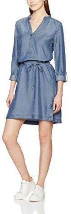 bd4dd195e64c0 Amazon TOM TAILOR Denim damska sukienka Soft Chambray Dress - A ...