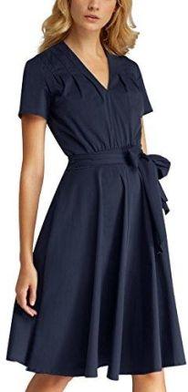 0e68329002 Amazon APart Fashion damska sukienka onllive Love trendy Stripe SS oneck  noos - 42 niebieski (