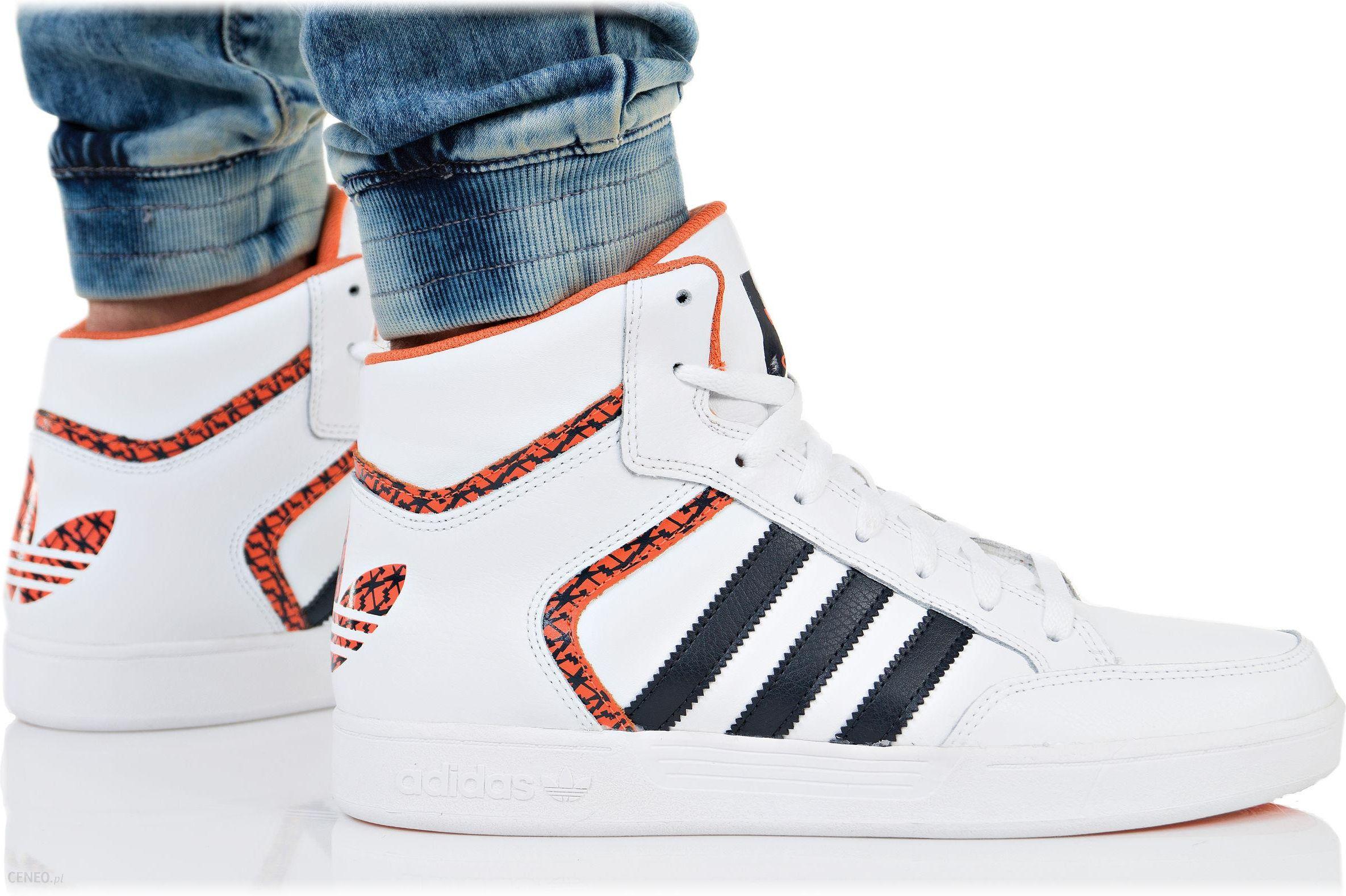 adidas buty wysokie czarne biały