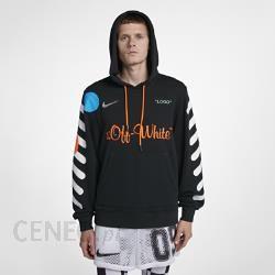 Męska bluza z kapturem Nike x Off White Czerń Ceny i
