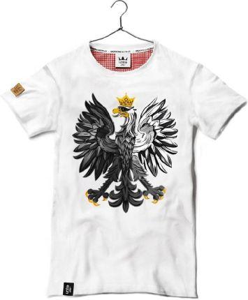 911f9c2ad Surge Polonia Koszulka patriotyczna Polak Węgier dwa bratanki (BIAŁA ...
