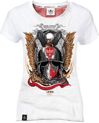 162d353662613c Koszulka patriotyczna Husarz elitarna kawaleria - biała(damska) M
