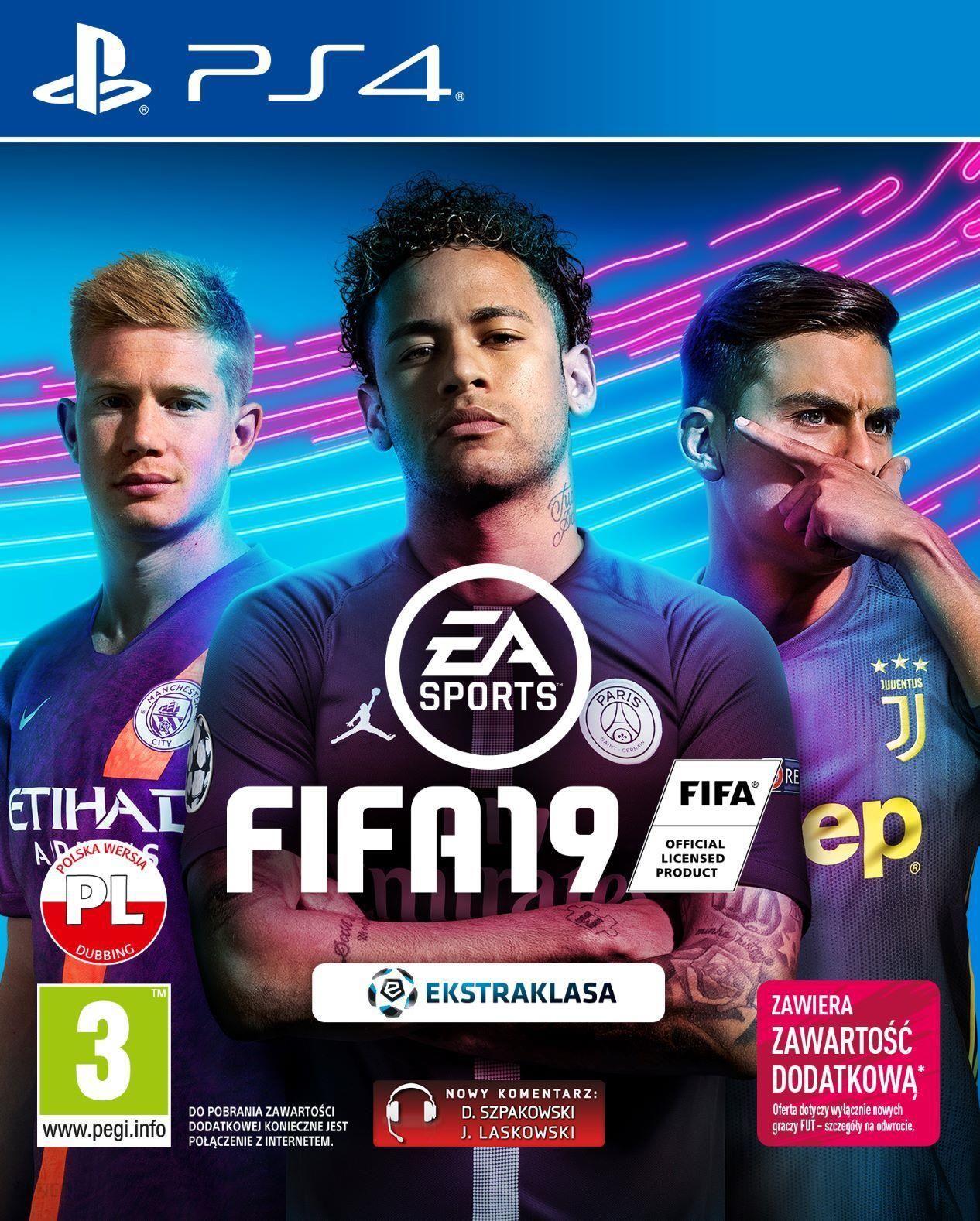 Fifa 19 Gra Ps4 Ceny I Opinie Ceneo Pl
