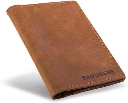 a4e0f2b208ab8 Skórzany cienki portfel slim wallet brødrene - Ceny i opinie - Ceneo.pl