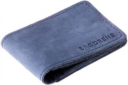491f8f40ad4cb StylowaTorba.pl Granatowy cienki portfel slim wallet Brodrene