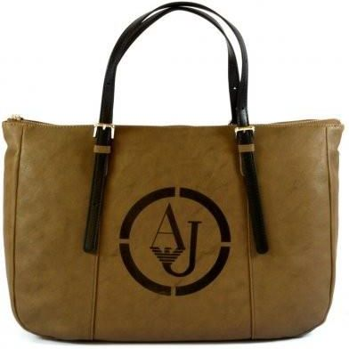 b772aa81acd61 StylowaTorba.pl Armani Jeans torebka damska brązowa shopper