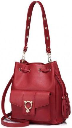 9b65d0231b33c Desigual czerwona torba sportowa Gym Bag Scarlet Bloom - Ceny i ...