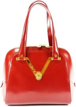8d28daf8048d0 StylowaTorba.pl VALENTINO ORLANDI torebka damska piękny elegancki kuferek  czerwony