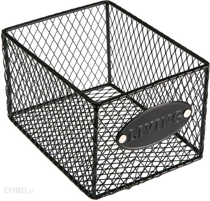 Versa Czarny Koszyk Metalowy Opinie I Atrakcyjne Ceny Na Ceneopl