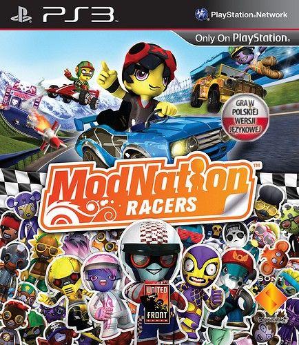 Modnation Racers Gra Ps3 Ceneo Pl