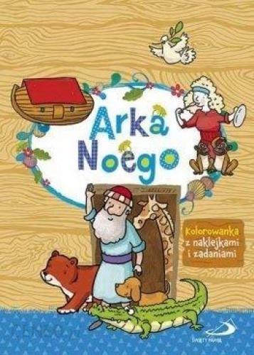 Książka Arka Noego Kolorowanka Z Naklejkami I Zadaniami Ceny I