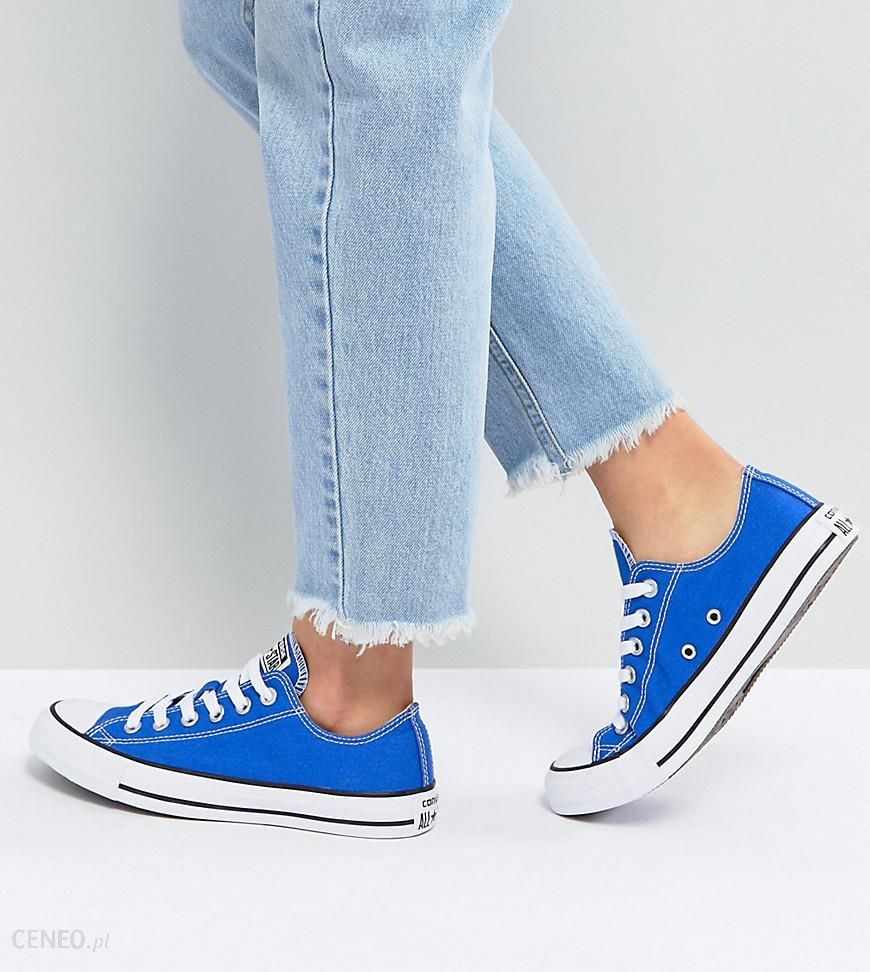 Converse Chuck Taylor All Star Ox Trainers In Royal Blue Blue Ceneo.pl