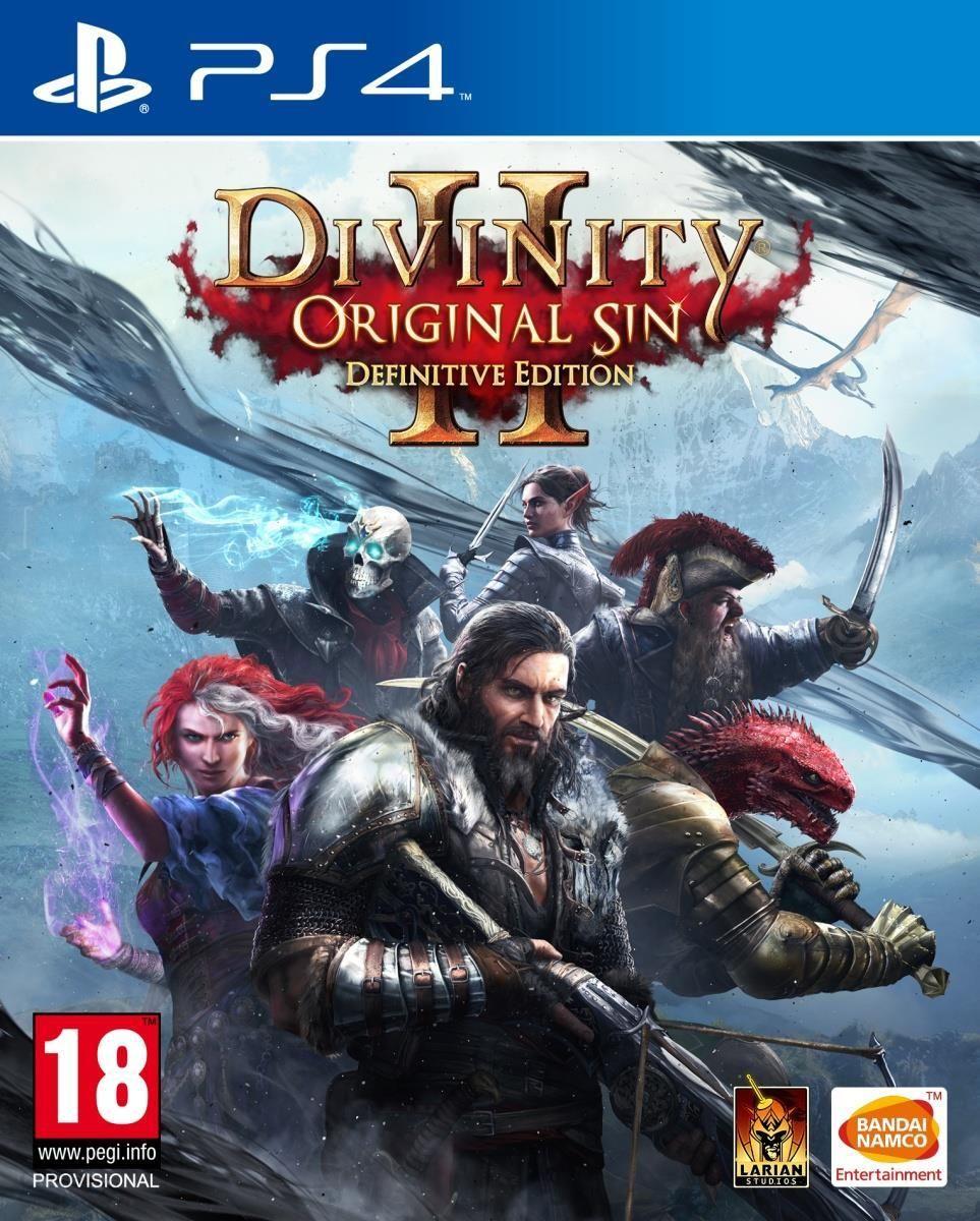 Divinity Original Sin 2 Definitive Edition Gra Ps4 Ceny I Opinie Ceneo Pl