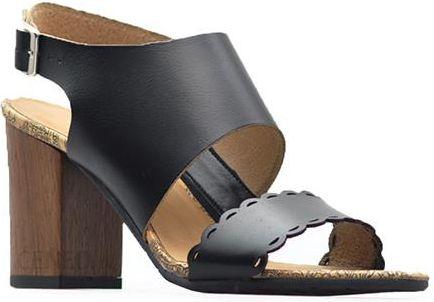 Sandały Ryłko 9HFA8_R_SE4 Czarne lico