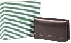 f435a6740da30 Damski mały portfel skórzany Vip Collection London 14 Brązowy - Brown cherry