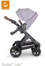 Stokke Trailz Black Brushed Lilac Spacerowy